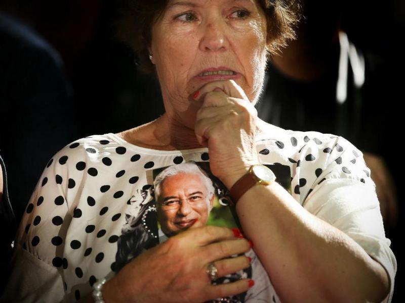 A noite das eleições: tristeza no PS