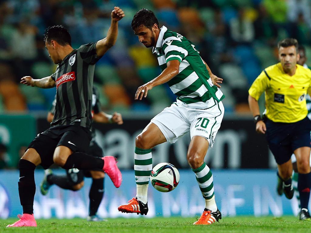 Sporting-Vitória Guimarães (LUSA/ António Cotrim)