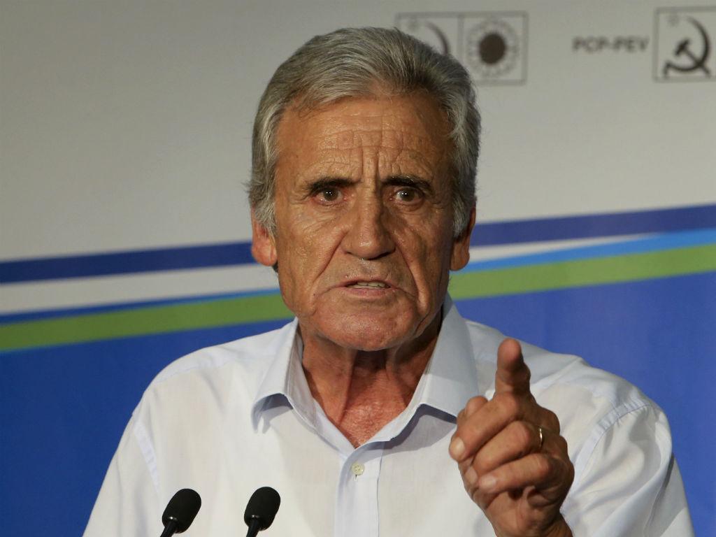 Jerónimo de Sousa fala sobre o resultado eleitoral