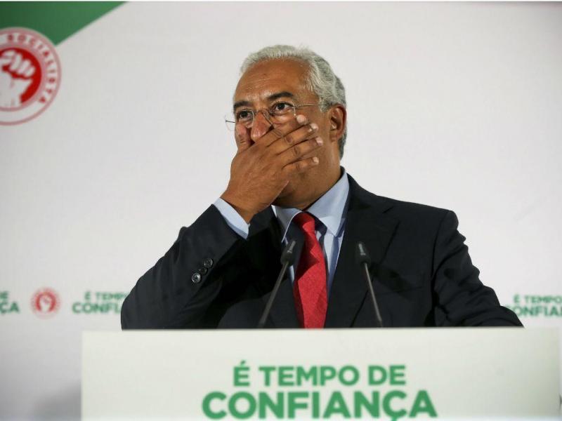 A noite das eleições: António Costa fala aos apoiantes