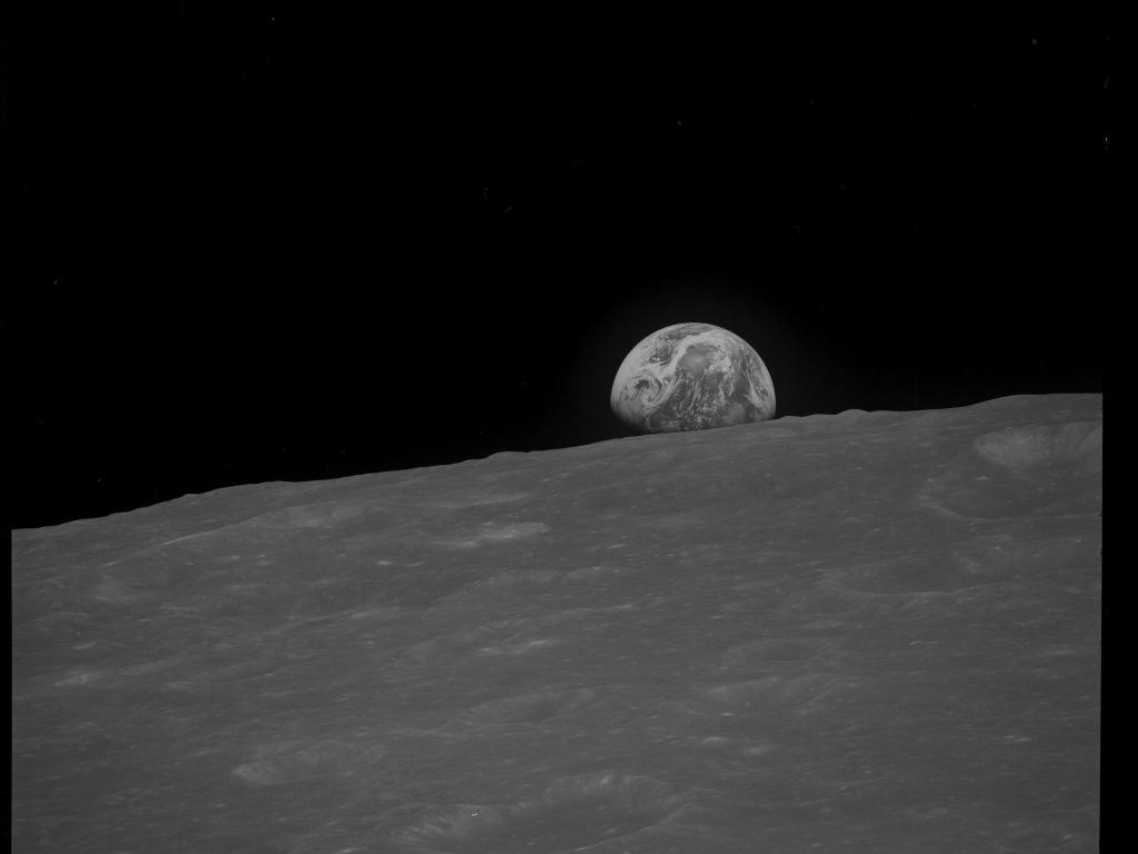 Fotos da missão Apollo 8
