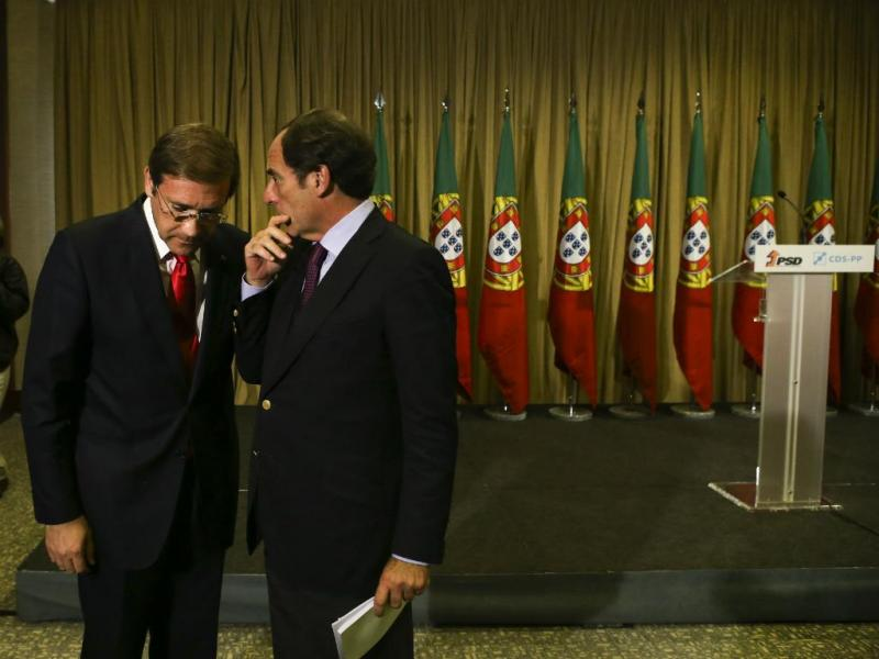 Paulo Portas e Passos Coelho