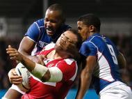 Mundial de râguebi 2015: Namíbia vs Geórgia (REUTERS)