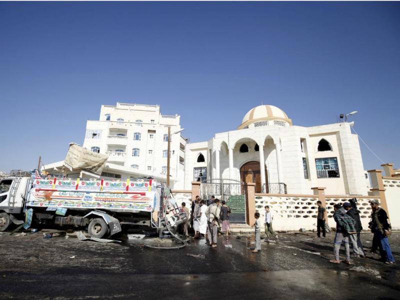 Bombardeamento no Iémen