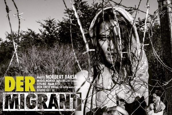 Sessão fotográfica de moda de Norbert Baksa
