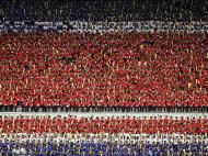 Adeptos da Coreia do Norte (Reuters)