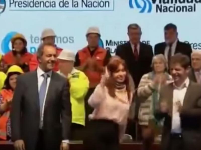 Cristina Kirchner torna-se viral na Internet