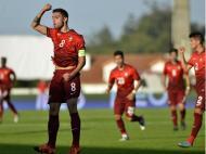 Bruno Fernandes festeja golo frente à Hungria