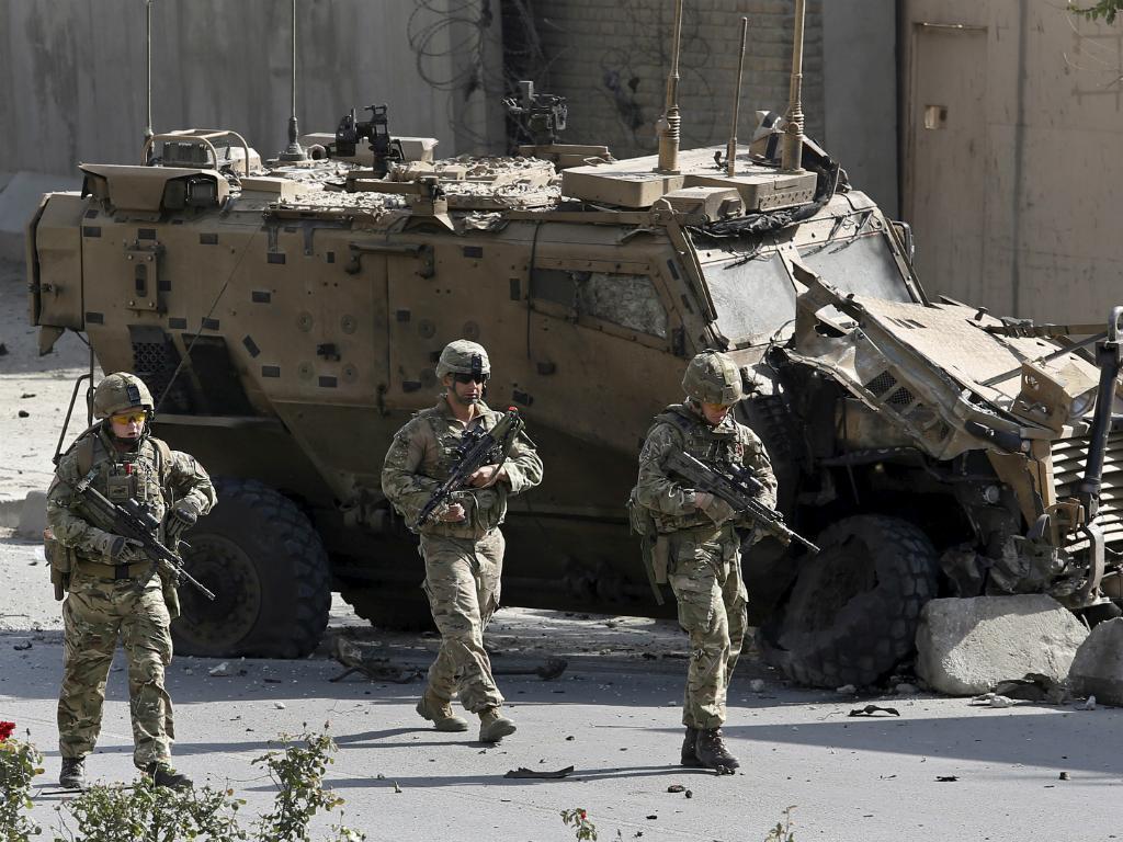 Soldados da NATO em Cabul