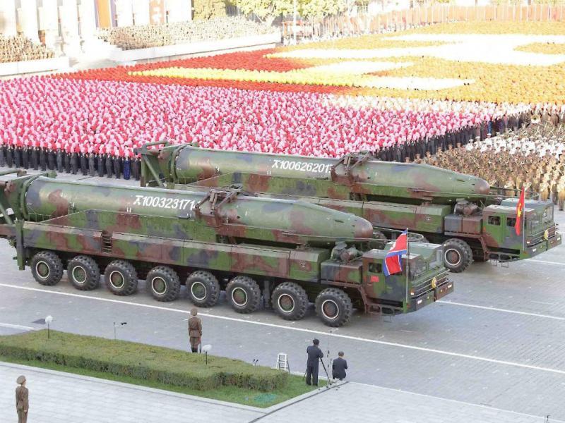 O meu míssil é maior do que o teu