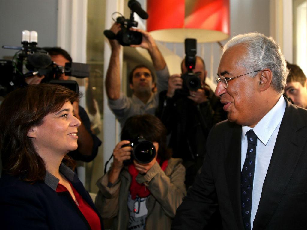 Reunião entre PS e Bloco de Esquerda