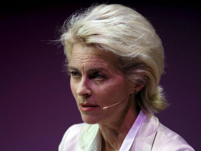 Ursula von der Leyen (REUTERS)