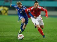 Áustria vs Liechtenstein (REUTERS)