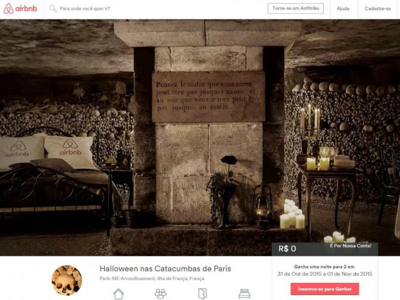 Airbnb está a oferecer estadia gratuita nas Catacumbas de Paris
