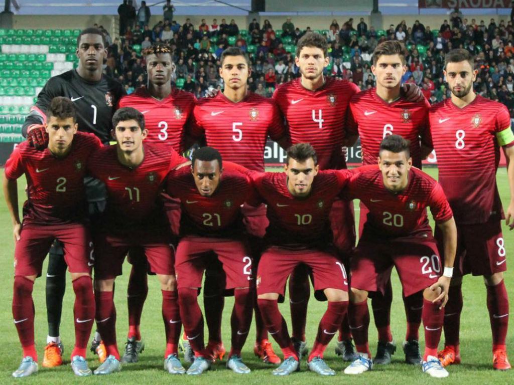 Grécia-Portugal (foto: FPF)
