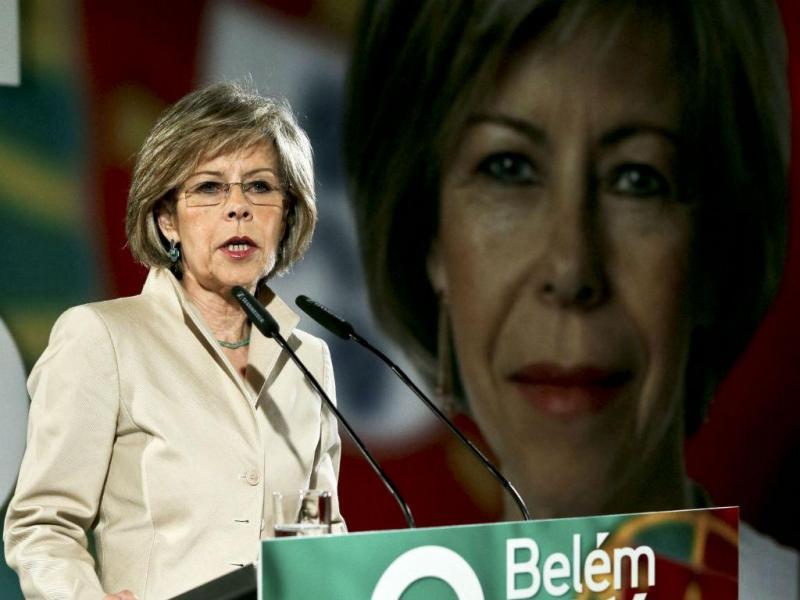 Maria de Belém apresenta candidatura à Presidência da República [Miguel A. Lopes/Lusa]