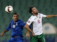 Bulgária vs Azerbaijão (REUTERS)