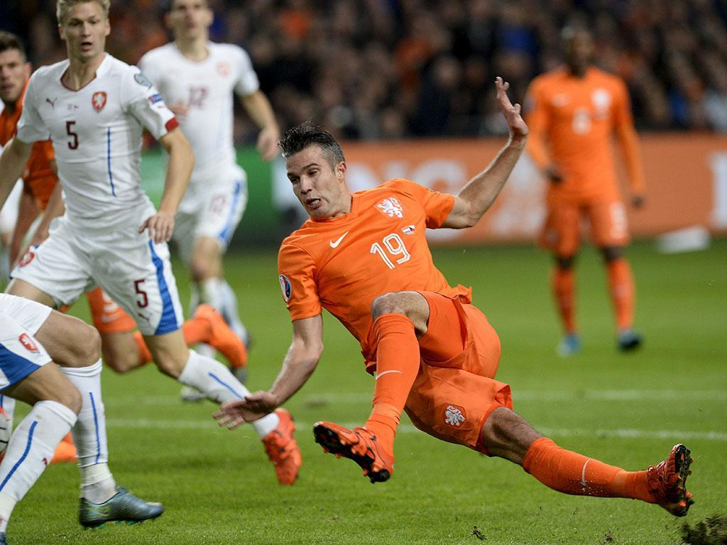 Holanda vs República Checa (REUTERS)
