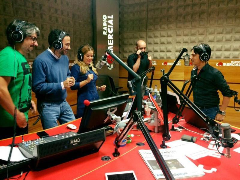 Vasco Palmeirim nas Manhãs da Rádio Comercial