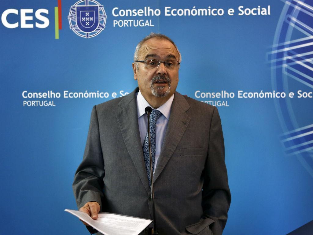 Presidente da Confederação do Comércio, João Vieira Lopes