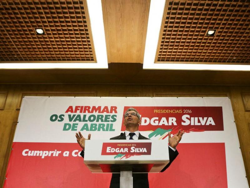Edgar Silva apresenta candidatura à Presidência da República