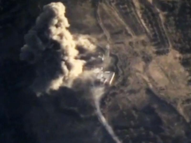 Bombardeamentos russo na Síria