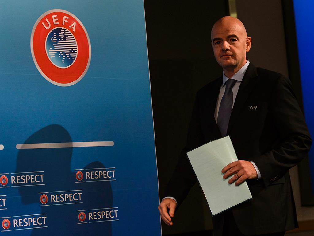 Reunião do comité executivo da UEFA (EPA)