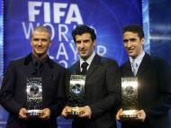 Raul, Figo e Beckham (Reuters)
