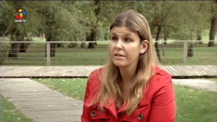 Ana Sofia Antunes é candidata a deputada e é cega de nascença