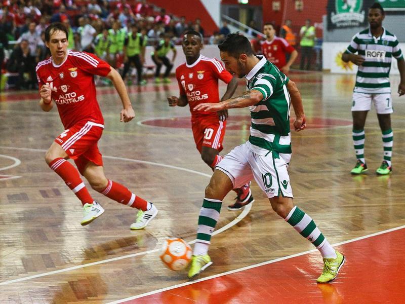 Futsal: Benfica-Sporting (Lusa)