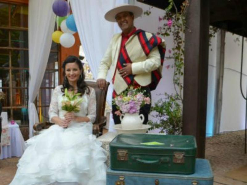 Meyer e Herrera casaram-se há um ano após se terem conhecido no Facebook (Foto Daniel Herrera)