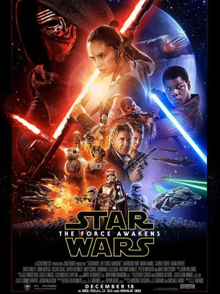 """Novo cartaz """"Star Wars: O Despertar da Força"""""""