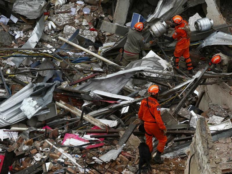 Explosão no Rio de Janeiro