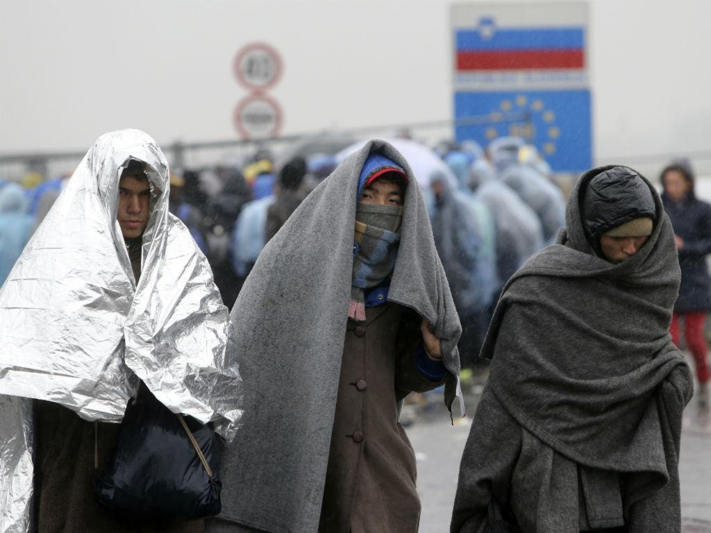 O inverno dos refugiados