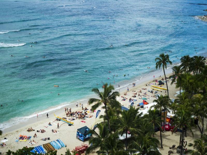 Praia de Waikiki, Havai
