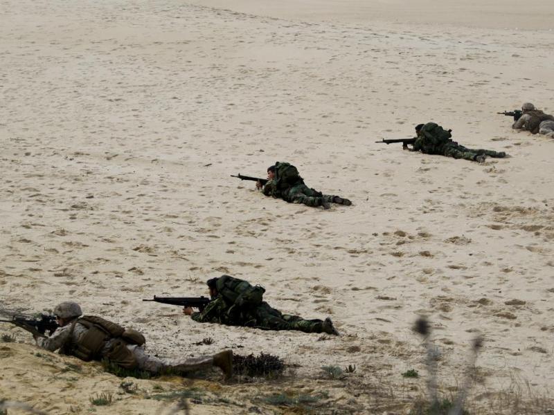 Exercício da NATO em Portugal