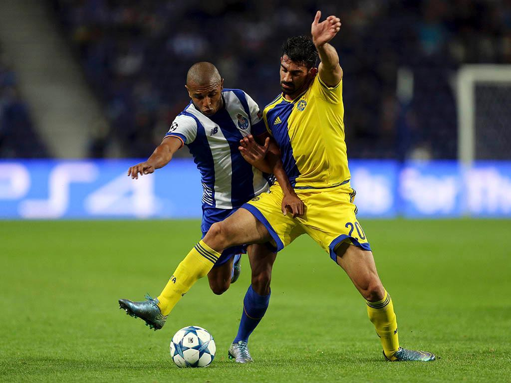 FC Porto-Maccabi Tel Aviv (Lusa)