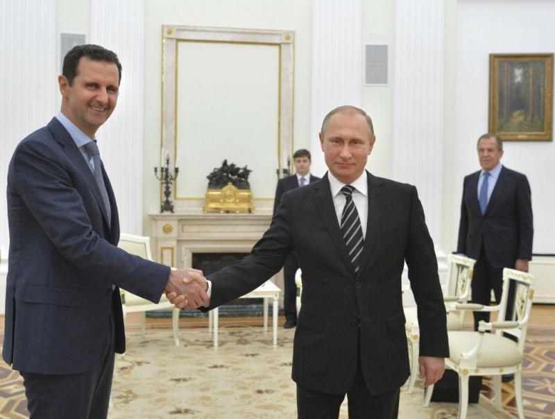 Bashar al-Assad e Vladimir Putin [Foto: Reuters]