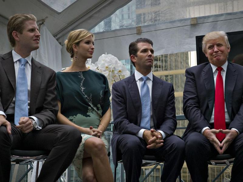 Ivanka Trump, a filha de Donald Trump é muito mais do que a menina do papá (REUTERS)