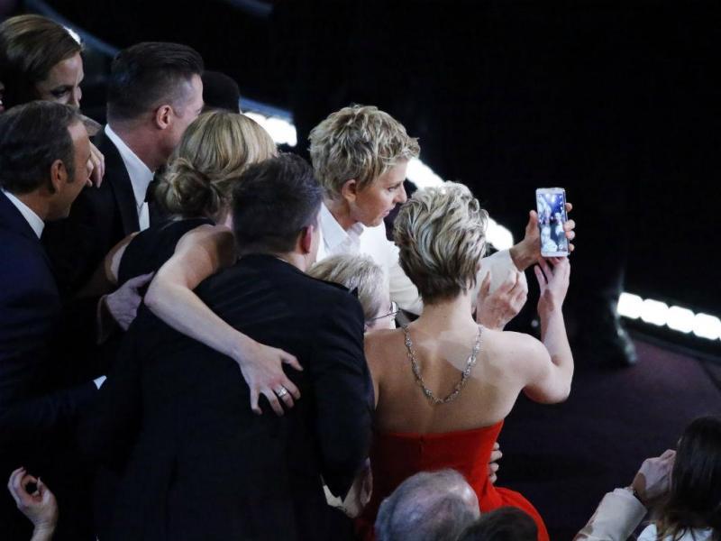 Ellen DeGeneres, apresentou  a cerimónia dos óscares em 2014 e em 2007 (REUTERS/Jonathan Ernst)