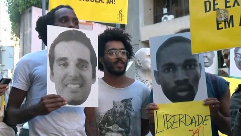 Luaty em greve de fome há 32 dias