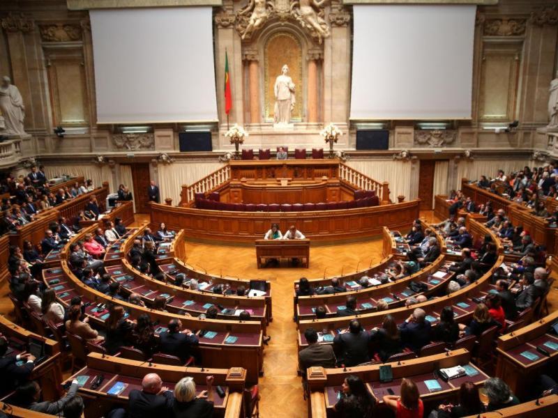 O primeiro dia no Parlamento