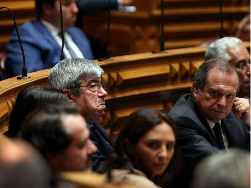 Eleição do Presidente da Assembleia da República da XIII Legislatura [Lusa\Tiago Petinga]