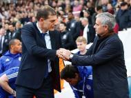Slaven Bilic e Mourinho (Reuters)
