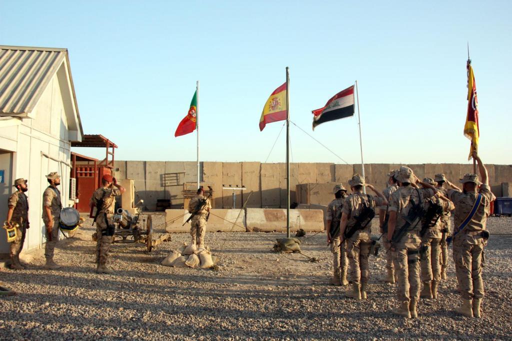 Operações  dos militares portugueses no Iraque (Foto: Sérgio Furtado)