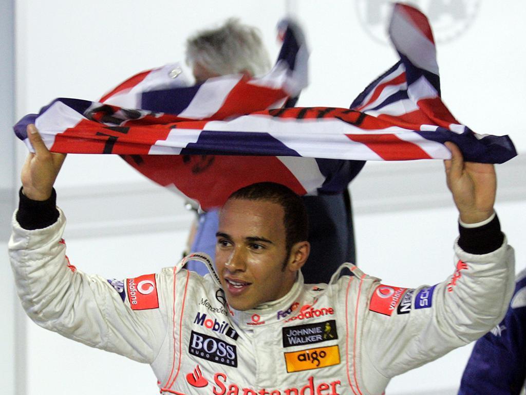 Lewis Hamilton: 9,9 milhões de seguidores - 6,2 milhões de euros faturados