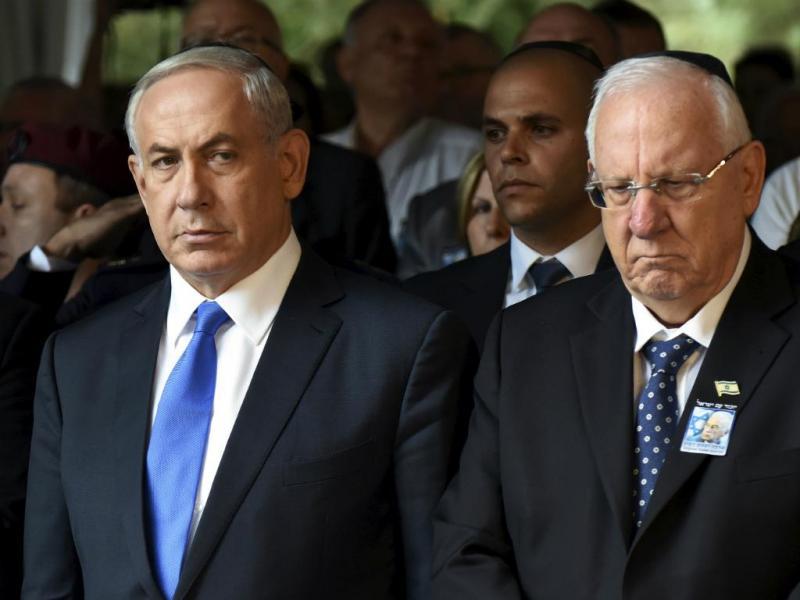 Benjamin Netanyahu e Reuven Rivlin