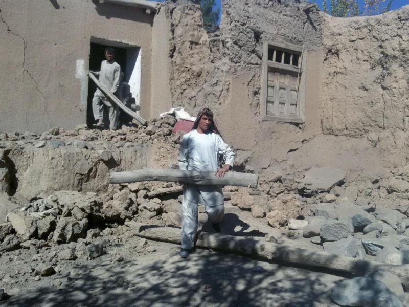 Consequências do sismo no Afeganistão