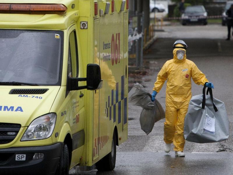 Suspeita de paciente com Ébola em hospital de Vigo