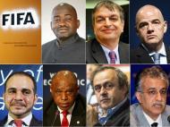 Candidatos à presidência da FIFA (Lusa)